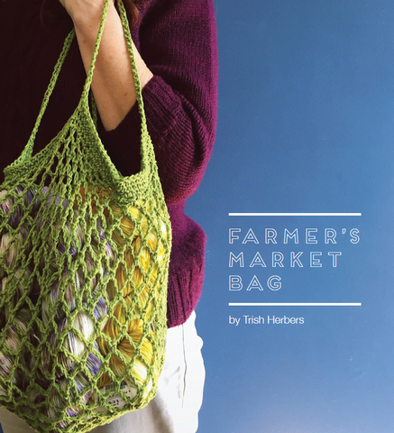 Crochet Market Bag, Wed., 5/12 AND 5/19, 6-8PM