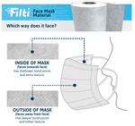 Filti Face Mask Material by the Foot