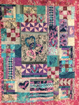 Random Heart Sampler Quilt Kit