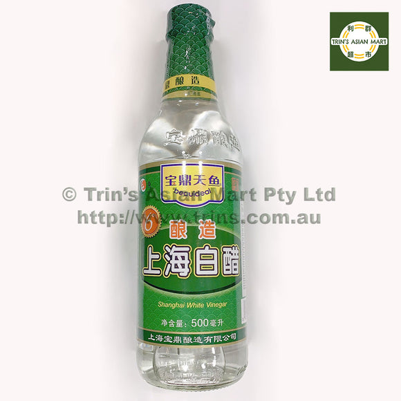 BEAUIDEAL SHANGHAI WHITE VINEGAR 500ML