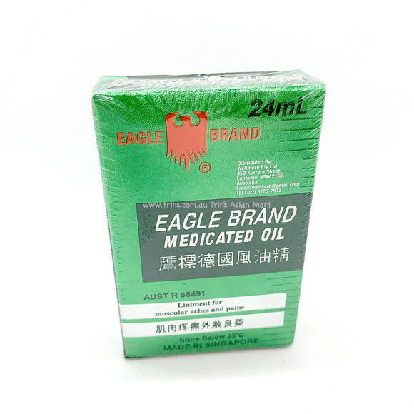 EAGLE MEDICATED OIL 24ML