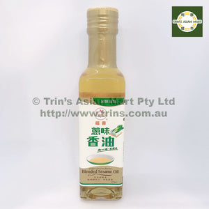 FUSHOU GREEN ONION BLENDED SESAME OIL 220ML