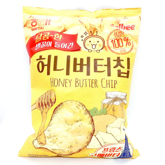 HAITAI HONEY BUTTER CHIPS 120G