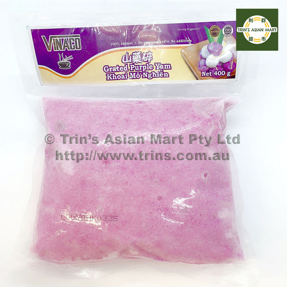 VINACO GRATED PURPLE YAM 400G