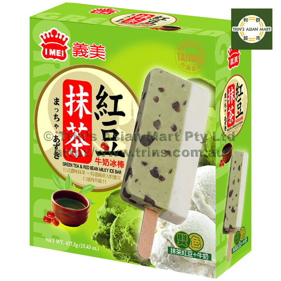 IMEI Ice Bar Matcha and Red Bean 437.5G