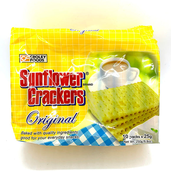 Croley Sunflower Crackers Original Flavour 250g