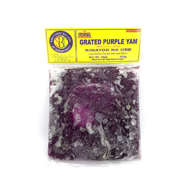 SBC GRATED PURPLE YAM 454G