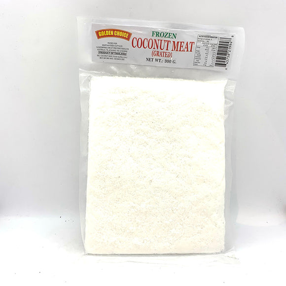GOLDEN CHOICE FROZEN GRATED COCONUT MEAT 300G