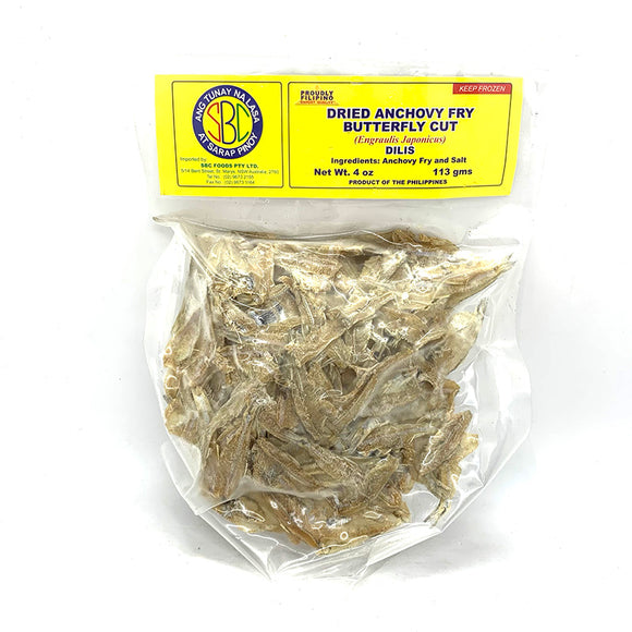 SBC DRIED ANCHOVY 113G