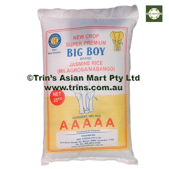 Big Boy Jasmine Rice 10kg