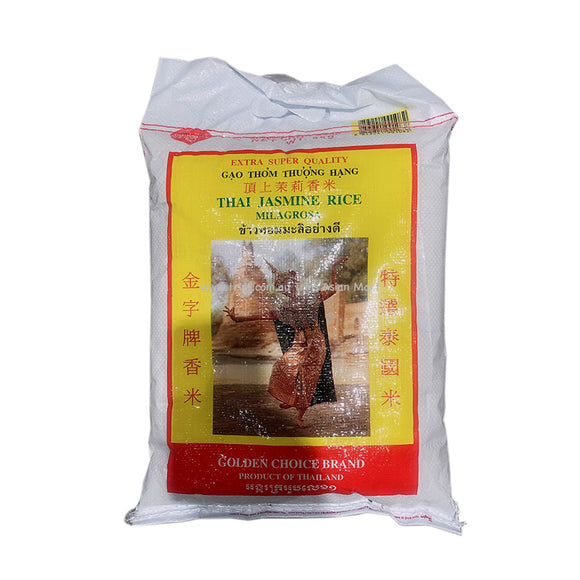 Golden Choice Thai Jasmine Rice 5kg