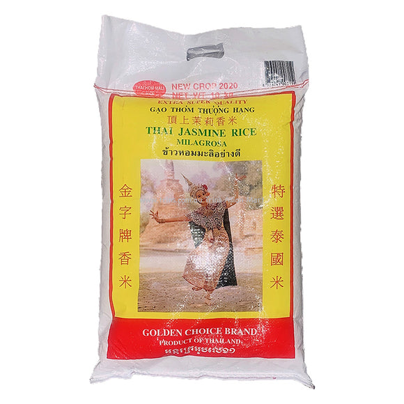 Golden Choice Thai Jasmine Rice 10kg