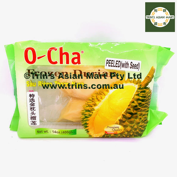 OCHA Frozen Durian with Seed 400G