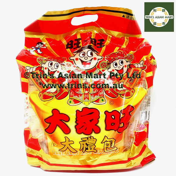 WantWant Rice Crackers Chinese New Year Gift Big Pack 480g