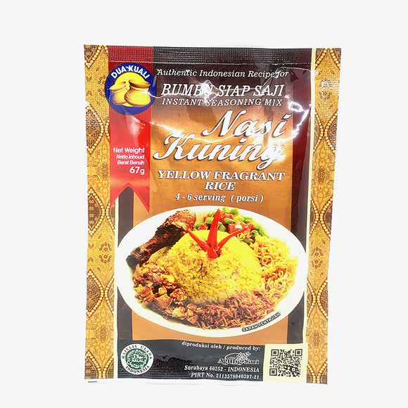 Dua Kuali Nasi Kuning (Yellow Fragrance Rice) 67g