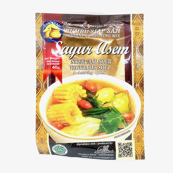 Dua Kuali Sayur Asem (Sweet and Sour Vegetable Soup) 60g