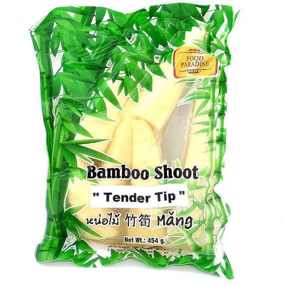 Food Paradise Bamboo Shoots Tender Tips 454g