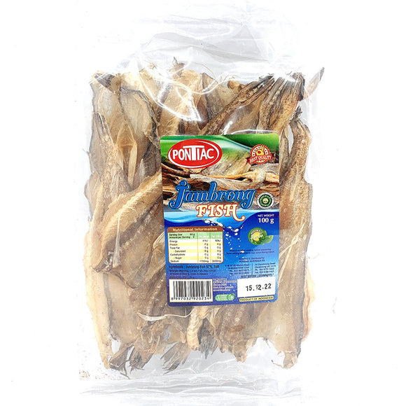 Pontiac Dried Jambrong Fish 100g