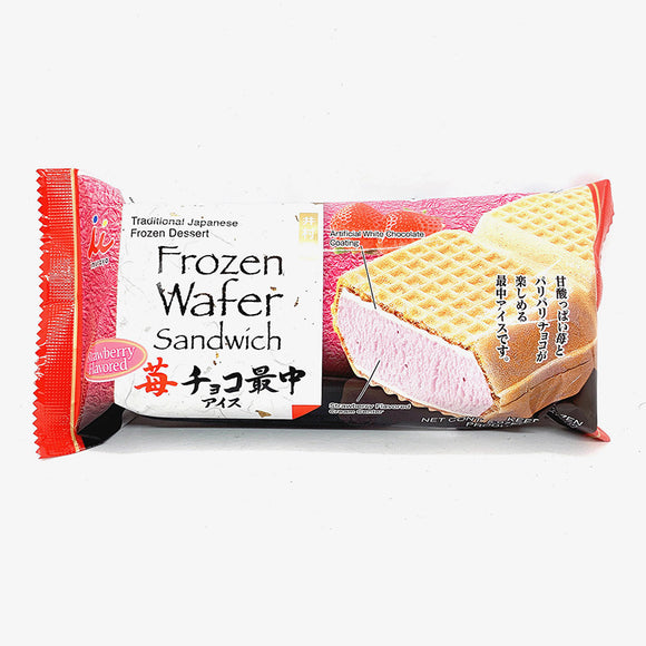 Imuraya Frozen Strawberry Wafer Sandwich 150mL