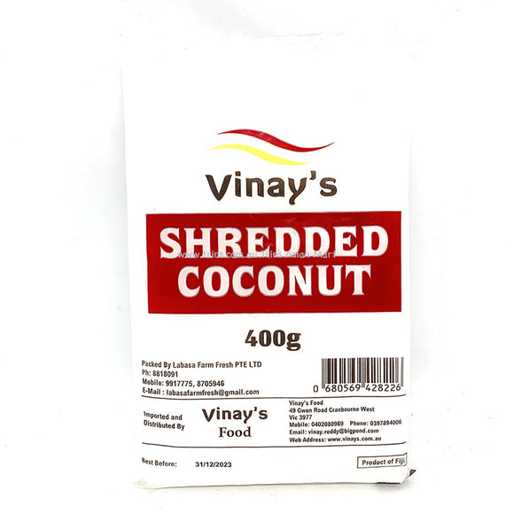 Vinay's Shredded Coconut 400g