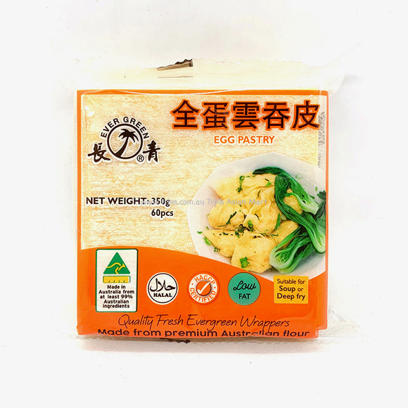 Ever Green Wonton Egg Pastry 350g 60pcs