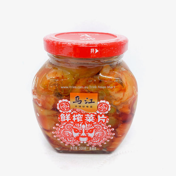 WUJIANG PICKLED MUSTARD SLICES 300G