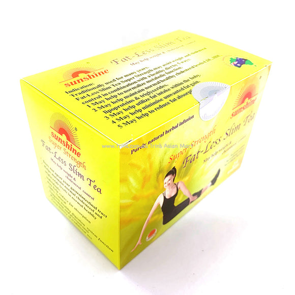SUNSHINE FAT LESS SLIM TEA 25 BAGS