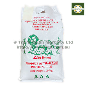 Lion Thai Jasmine Rice 10KG