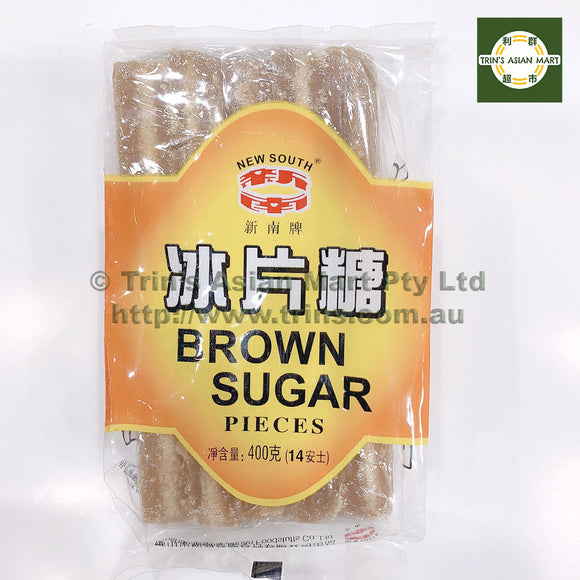 NEW SOUTH BROWN SUGAR PIECES 400G