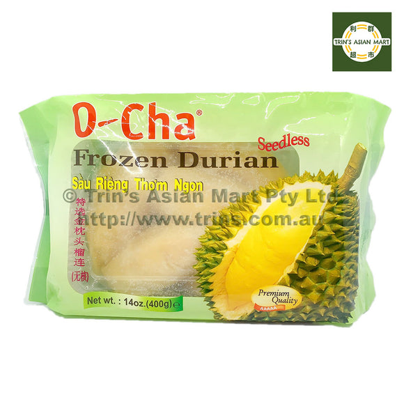OCHA Frozen Durian Seedless 400G