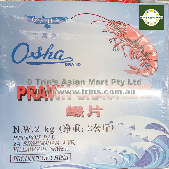 OSHA Prawn Crackers 2KG