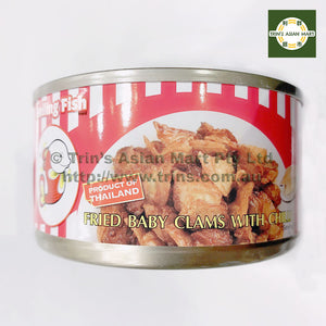 SMILING FISH FRIED BABY CLAMS W CHILI 70G