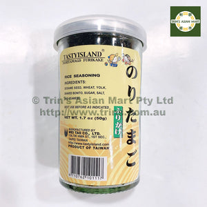 "Tasty Island Rice Seasoning ""Nori Tamago"" 50G"