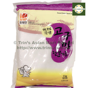 TOURMAN SWEET POTATO STARCH 1KG