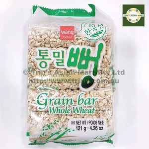 WANG GRAIN BAR WHOLE WHEAT 121G