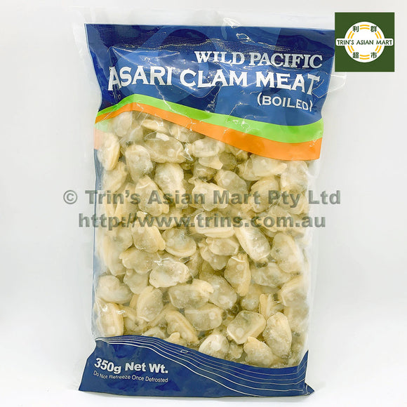 WILD PACIFIC CLAM MEAT 350G