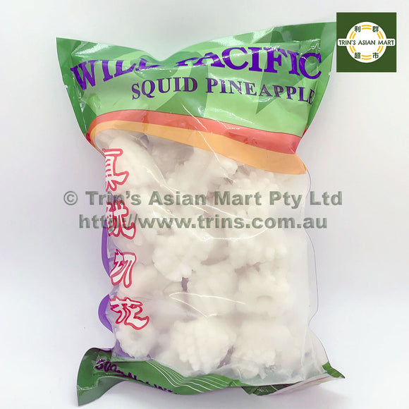 WILD PACIFIC SQUID PINEAPPLE 500G