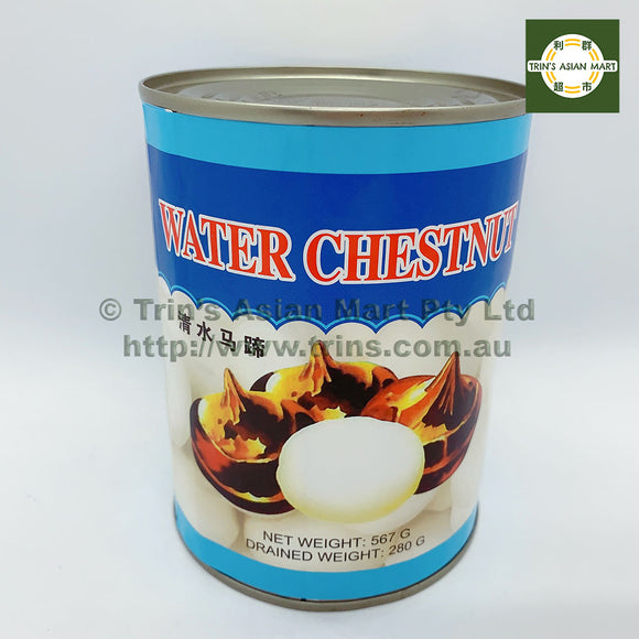 WXS WATER CHESTNUTS 567G