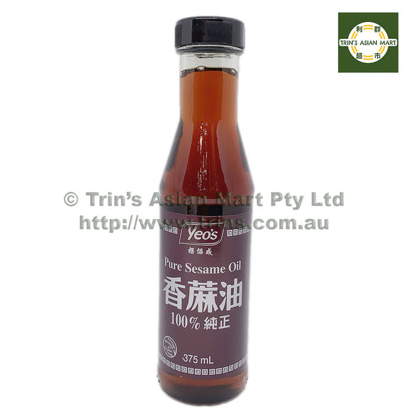 Yeo's Pure Sesame Oil 375mL
