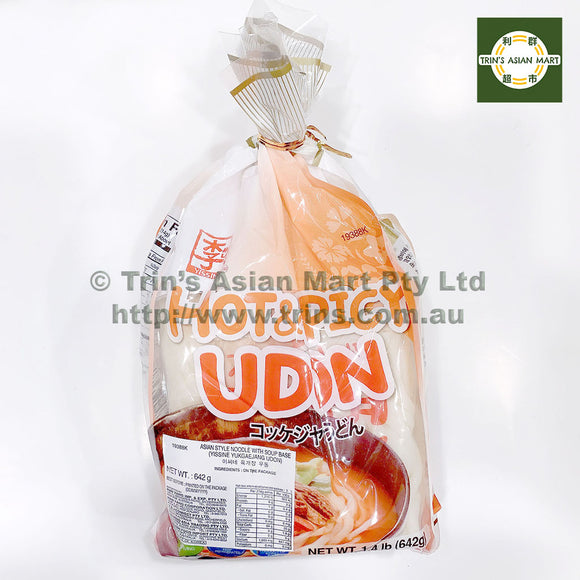 YISSIN HOT SPICY UDON w SOUP BASE 642G