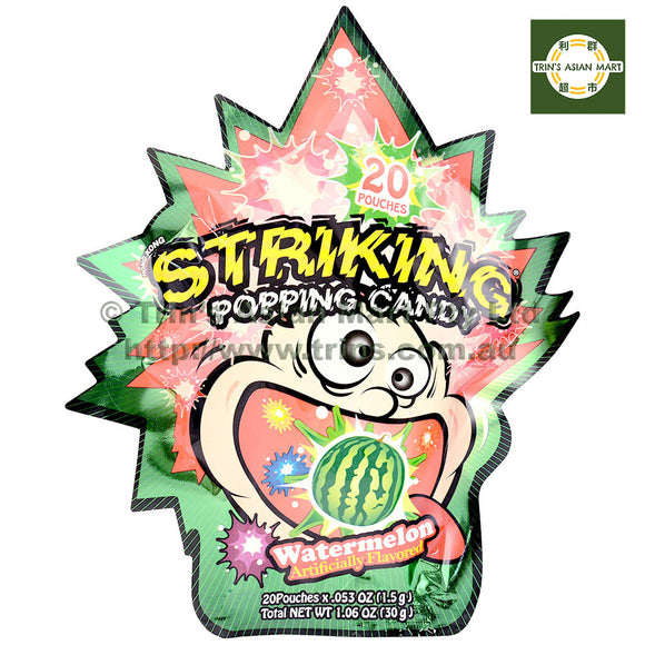 Yuhin Shocking Popping Water Melon 30G