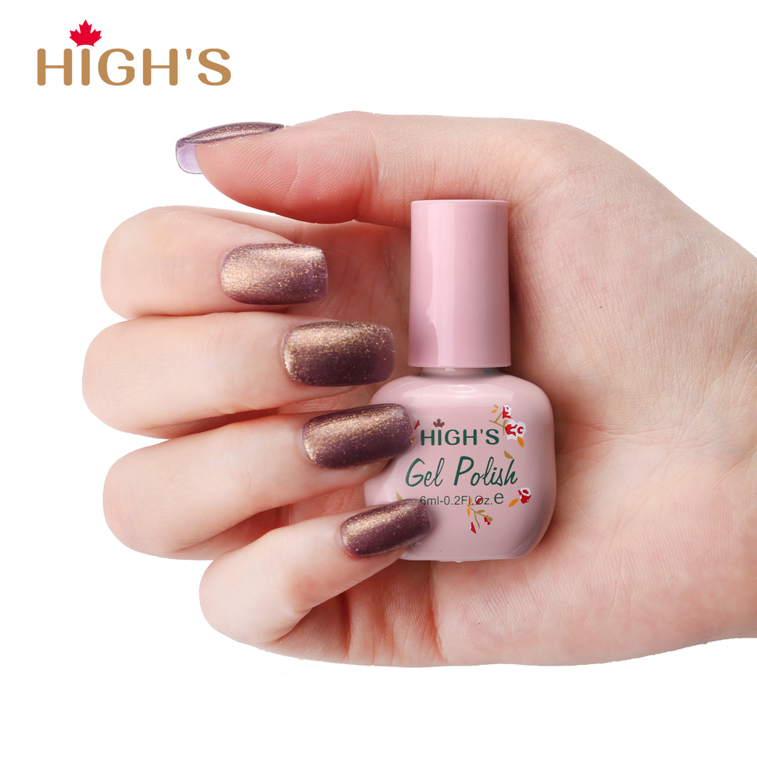 HIGH'S Peel Off Gel Nail Polish, Magic Words
