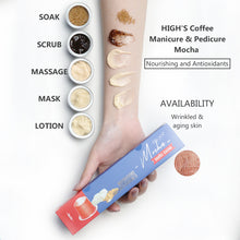 Load image into Gallery viewer, HIGH'S Coffee Manicure & Pedicure Mocha Nourishing and Antioxidants