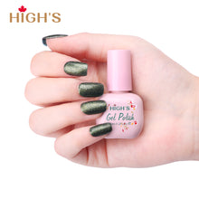 Load image into Gallery viewer, HIGH'S Peel Off Gel Nail Polish, Green Forest