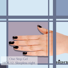Load image into Gallery viewer, HIGH'S One Step Gel Nail Polish, Sleepless Night