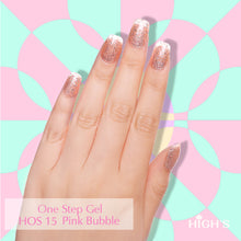 Load image into Gallery viewer, HIGH'S One Step Gel Nail Polish, Pink Bubble