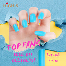 Load image into Gallery viewer, HIGH'S Peel Off Gel Nail Polish, Lakeside