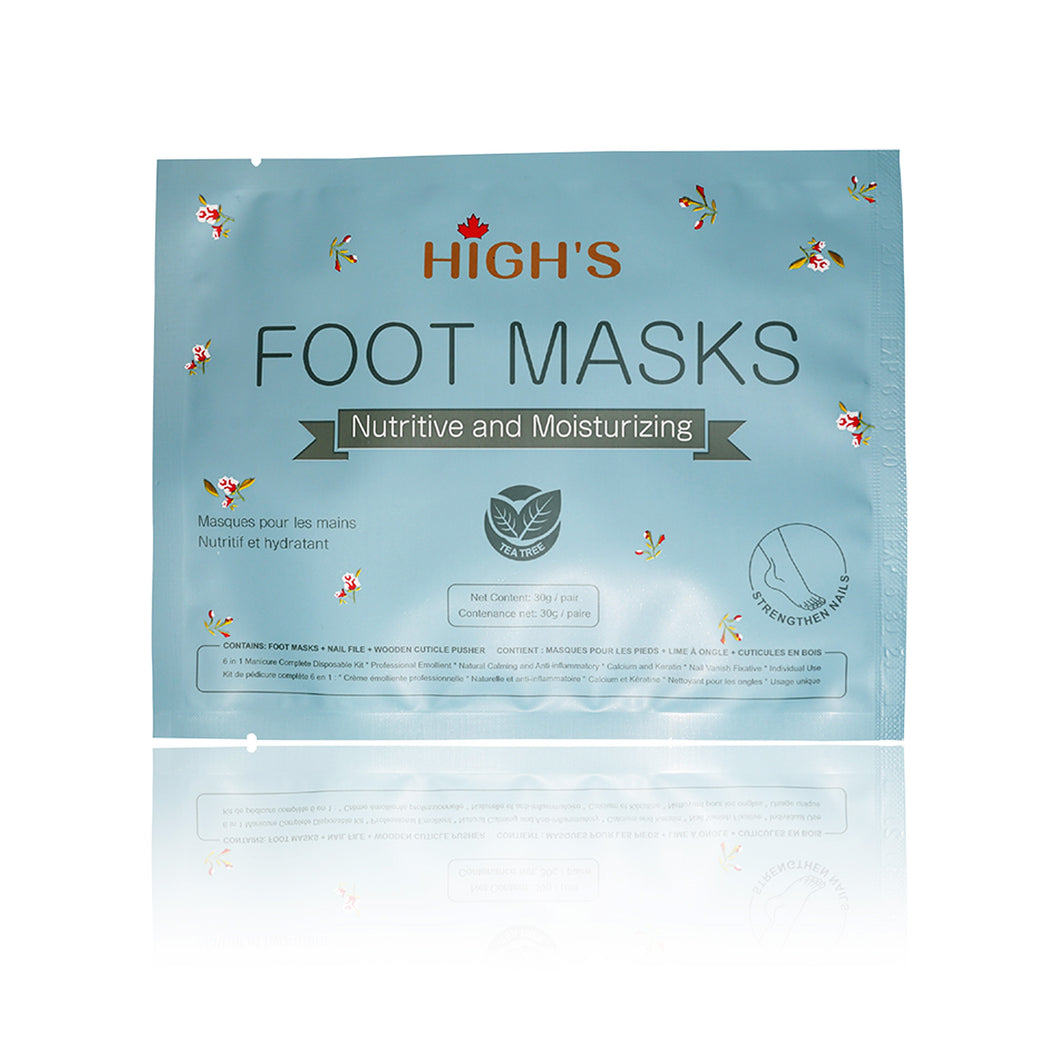 HIGH'S Nutritive and Moisturizing Foot Mask