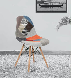 Eames Iconic Chair with Patchwork