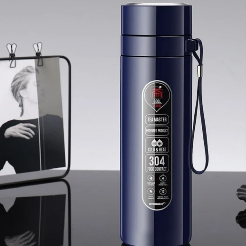 Thermos Infuseur Acier Inoxydable Avec Sangle